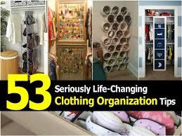 diy clothing storage 50 seriously life changing clothing organization and storage tips
