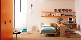 Orange And White Bedroom Bedroom Trendy Teenage Room Ideas From Italian Furniture Maker