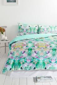 Bhs Duvet Covers Large Watercolour Style Flowers Blue Super King Duvet