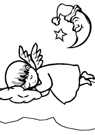 angel coloring pages free coloring pages