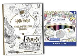 harry potter colouring book pack 24 staedtler colouring