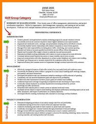 Computer Skills On A Resume 9 Skills And Abilities Resume Example Cv For Teaching