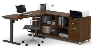 L Shaped Desk Office Mercury Row L Shape Desk Office Suite Reviews Wayfair