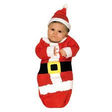 newborn costumes baby santa claus bunting costume newborn 0 6m target