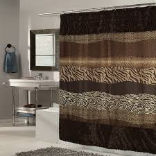 Leopard Print Shower Curtain by Bed Bath N More Shower Accessories Sears