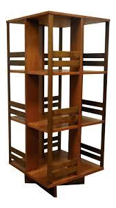 rotating bookcase plans revolving bookcase round revolving