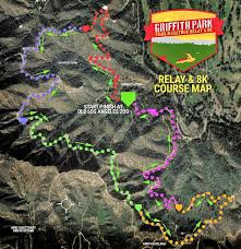griffith park map griffith park trail marathon relay and 8k registration information