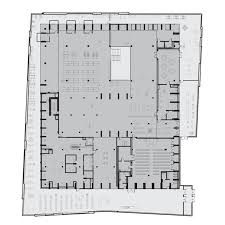 Public Library Floor Plan by Gould Evans Revamps A Brutalist Library In Kansas