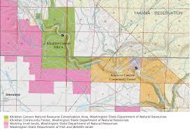 Washington State Geologic Map by Klickitat Canyon Community Forest Wa Dnr