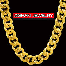 chunky link necklace images Mens 12mm 24 quot hip hop empire bling chunky cuban curb link chain jpg