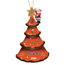 2009 annual cleveland browns ornament the danbury mint