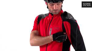 cycling jacket red alp x 2 0 windstopper soft shell zip off jacket by gore bike wear