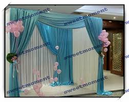 wedding canopy curtain u0026 wedding canopy pipe structure backdrop