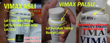 cara membedakan vimax asli dan palsu obat alat pembesar penis