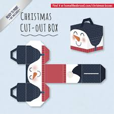 mega collection of 38 cut out christmas box templates part 2