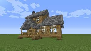 Minecraft House Design Ideas Xbox 360 by Minecraft How To Build A Wooden House Medium Size