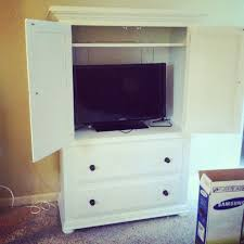 White Armoire Bedroom Furniture Armoire Makeover Master Bedroom Progress Report Erin Spain