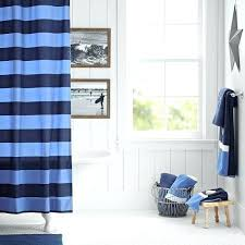 Stripe Curtain Panels Rugby Stripe Curtains Teawing Co