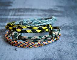 simple survival bracelet images Set of 4 simple paracord bracelets simple paracord bracelet etsy jpg