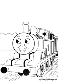 thomas printable coloring pages coloring