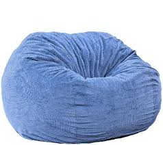 cordaroy u0027s full size convertible bean bag chair by lori greiner