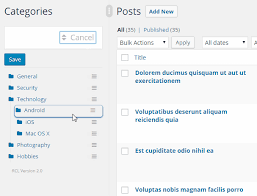 wordpress real category management custom category term order