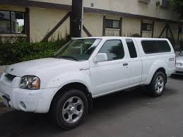 nissan truck white topper camper shell nissan frontier forum