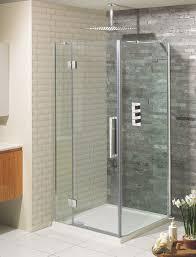Shower Hinged Door Ten Hinged Shower Door With Inline Panel In Hinged Door Luxury