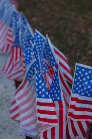 American Flag On Ground Campus Honors Veterans Eastern Kentucky University Eastern