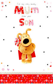 boofle to mum from your son mother u0027s day card cards love kates