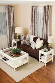 Living Room Ideas Brown Sofa Apartment Redtinku - Decoration of living room