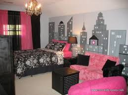 pink and black bedroom designs 10048