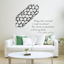 marie curie quote carbon nanotube vinyl wall decal