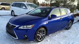 lexus for sale ct new ultrasonic blue 2015 lexus ct 200h hybrid f sport navigation