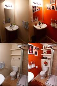 orange bathroom ideas orange bathroom fabuloushomeblog comfabuloushomeblog com storage