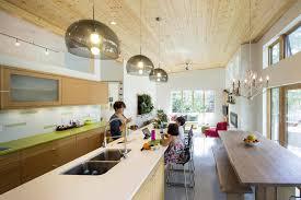 Home Design Jobs Edmonton by Modern Edmonton Bungalow Utilizes Concrete To Make It Energy