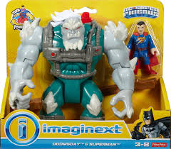 fisher price imaginext dc super friends deluxe doomsday with