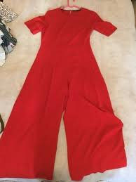 zara jumpsuit zara culotte jumpsuit vinted co uk