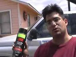 Car Upholstery Glue Fixing A Car U0027s Headliner Youtube