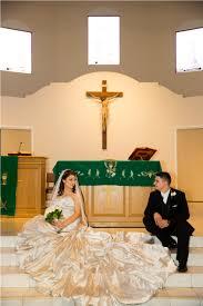 aly u0026 miguel hispanic wedding at mary agatha furth center in