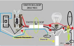 one switch operates 2 lights and a timer switch operates a fan in