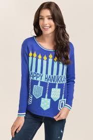 light up hanukkah sweater hanukkah light up sweater francesca s
