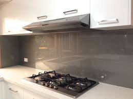 metallic charcoal coloured glass splashbacks from ultimate glass
