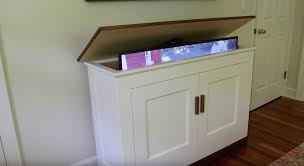 how to build a tv cabinet free plans build a tv lift cabinet free design plans jon peters art home
