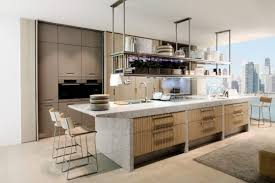 Neutral Kitchens - neutral and warm contemporary kitchen design ideas neutral wall