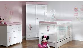 Asda Nursery Furniture Sets Obaby Minnie Mouse 3 Nursery Furniture Room Set White