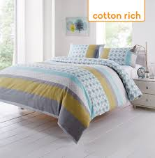 Harry Corry Duvet Covers Carter Duck Egg Cotton Mix Duvet Set Harry Corry Limited
