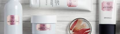 Skin Light Drops Of Light Skin Care The Body Shop