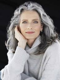 trendy gray hair styles 20 great hairstyles for ladies over 50 long hairstyles 2015