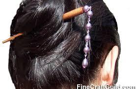 hair chopsticks how to make pearl hair sticks diy hair accessories jewelry